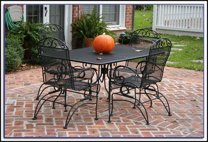 Plantation Wrought Iron Patio Furniture Sets