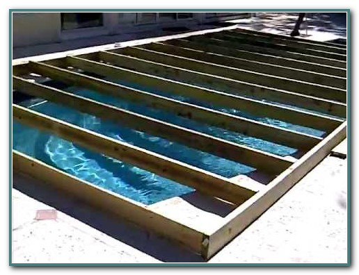 Pool Cover Dance Floor Miami