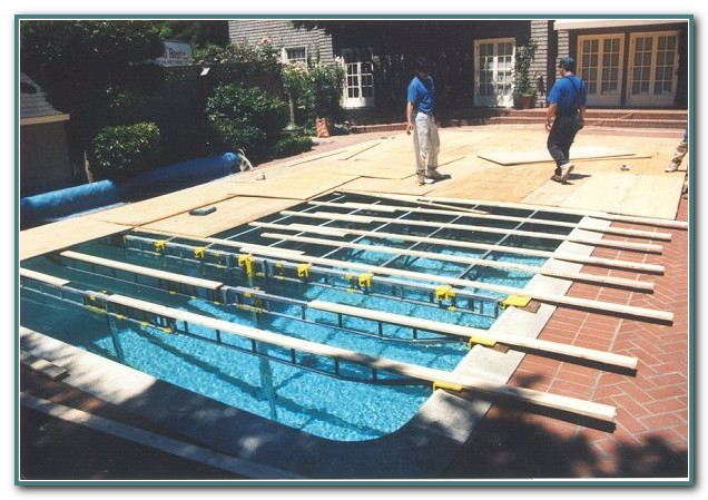 Pool Cover Dance Floor