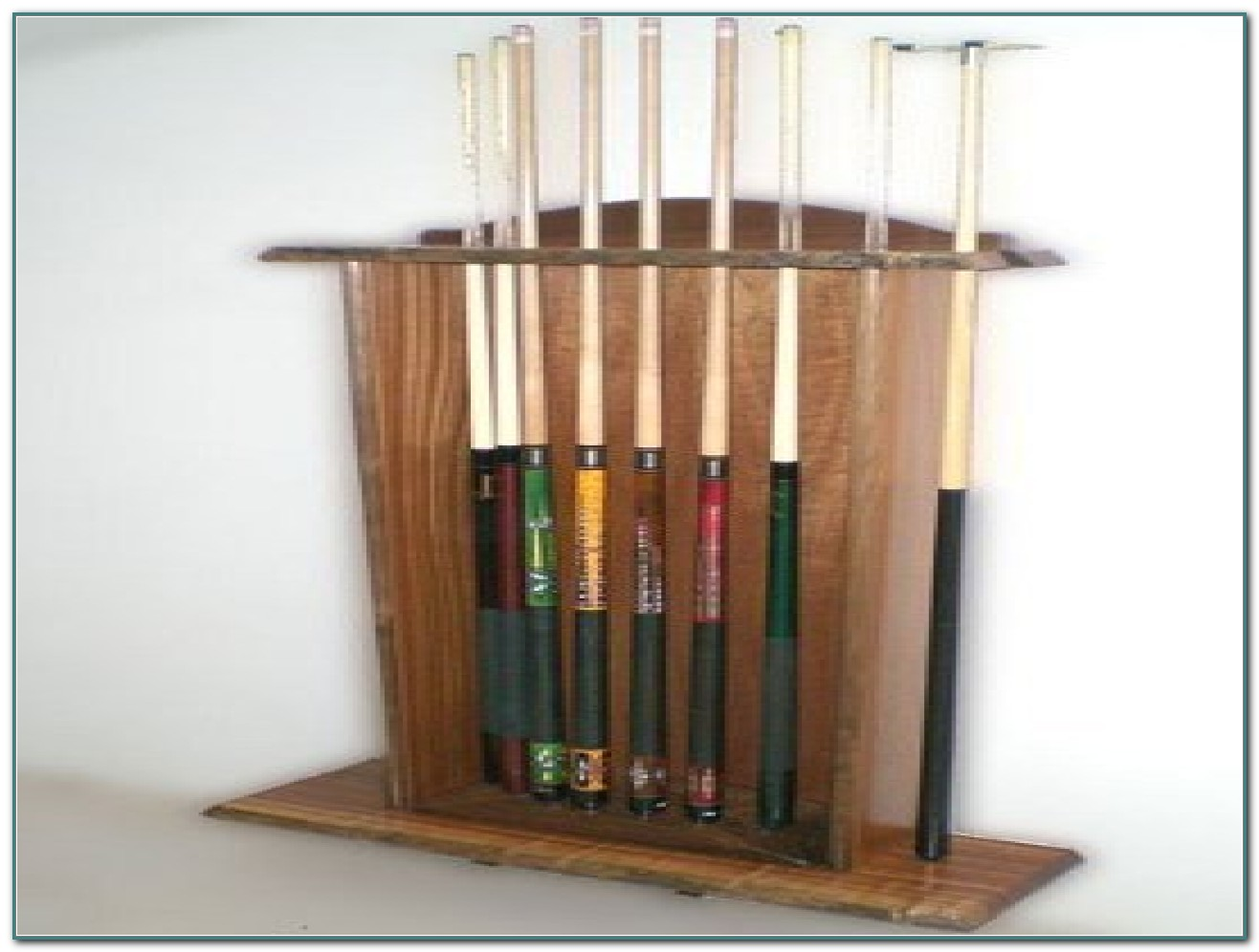 Pool Cue Wall Rack Designs