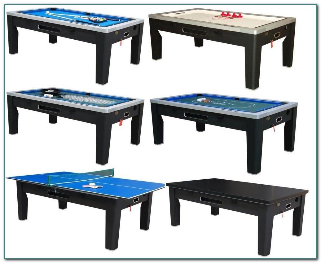 Pool Ping Pong Poker Table Combo