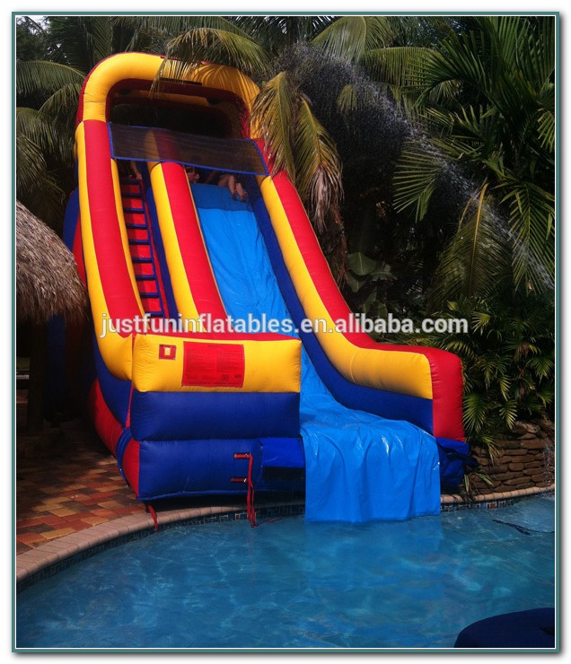 Pool Slides For Inground Pools Inflatable