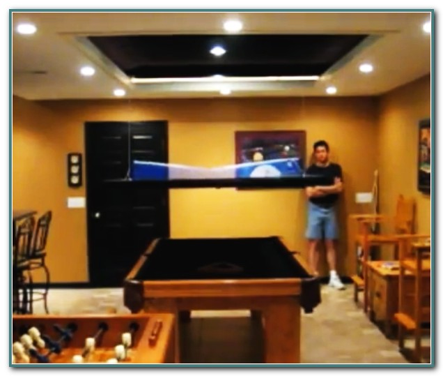 Pool Table Into Ping Pong Table