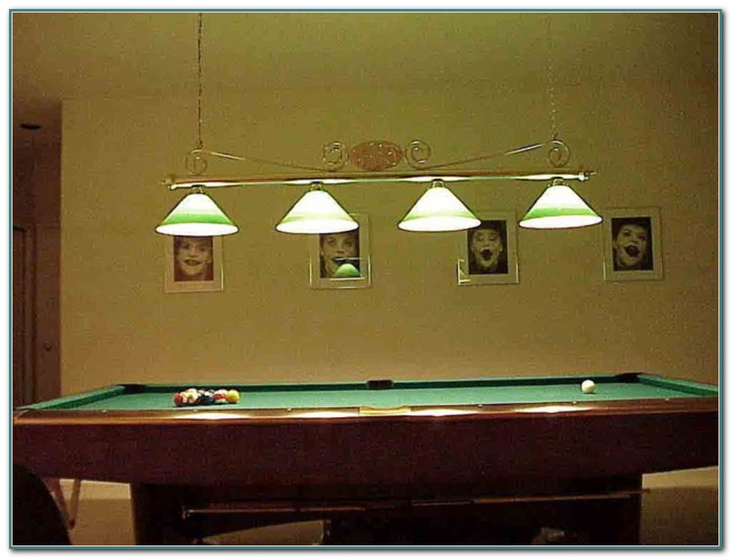 Pool Table Light Fixtures Beer