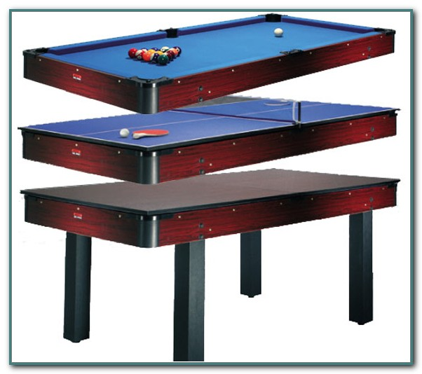 Pool Table Ping Pong Dining Table