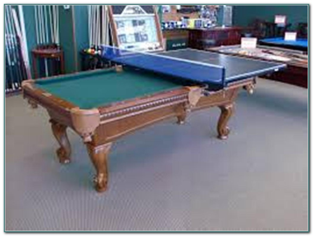 Pool Table Ping Pong Table Combo