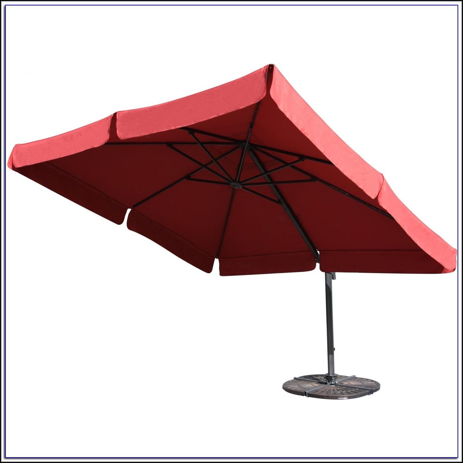 Portofino 10 Square Offset Patio Umbrella