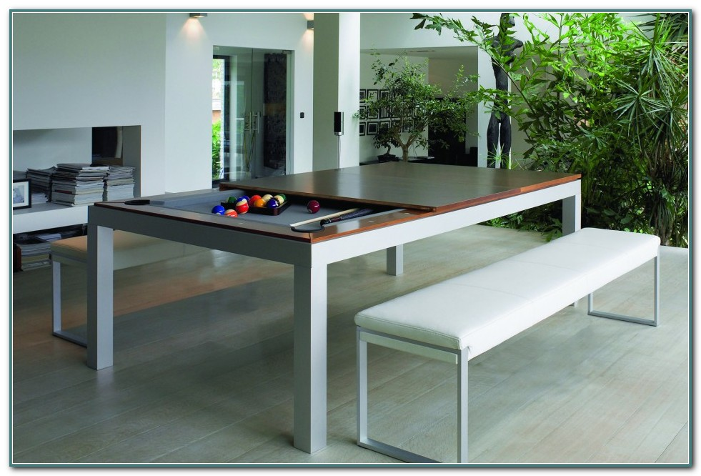 Pottery Barn Pool Table Dining