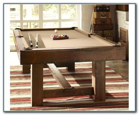 Pottery Barn Pool Table Room