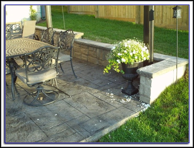 Poured Concrete Patio Estimate