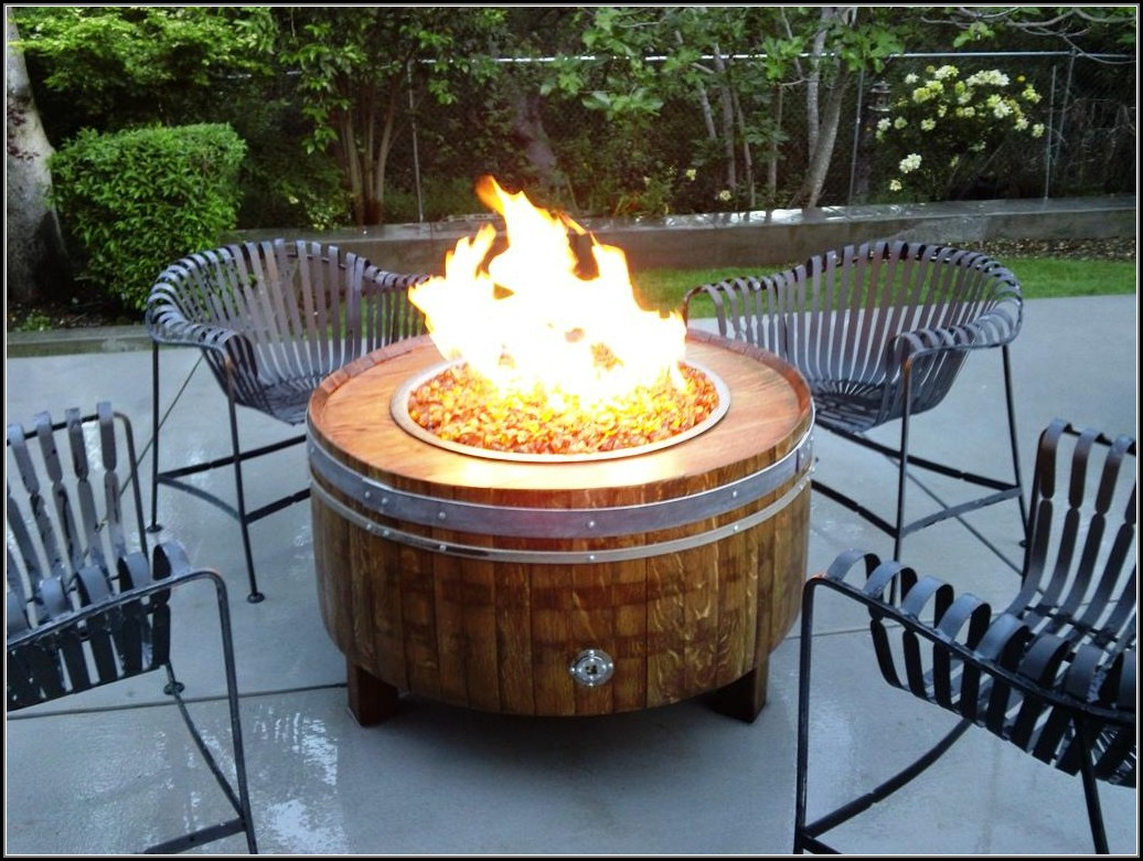 Propane Outdoor Fire Pit Kit
