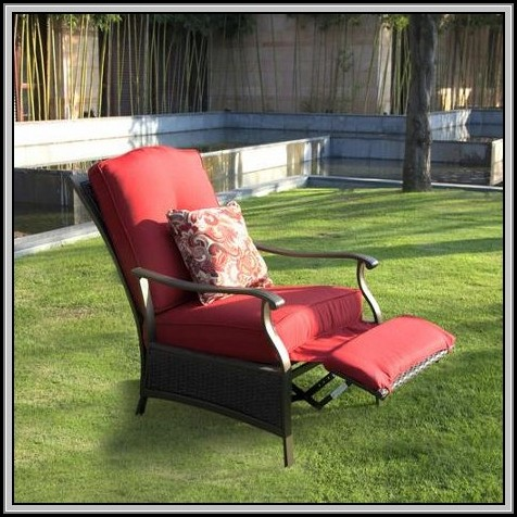 Reclining Patio Chair Canada