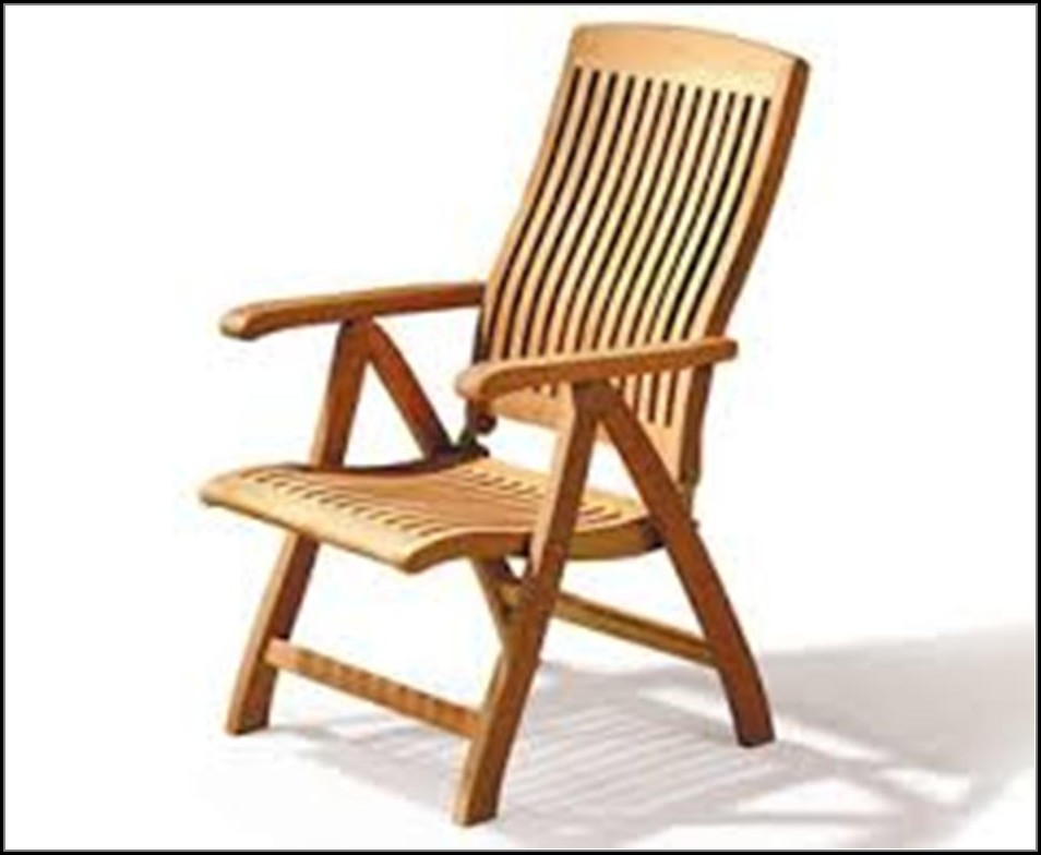 Reclining Patio Chair Plans