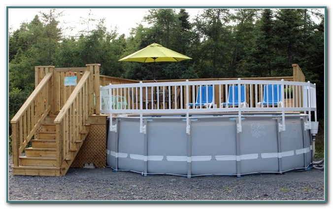 Resin Above Ground Pool Fence