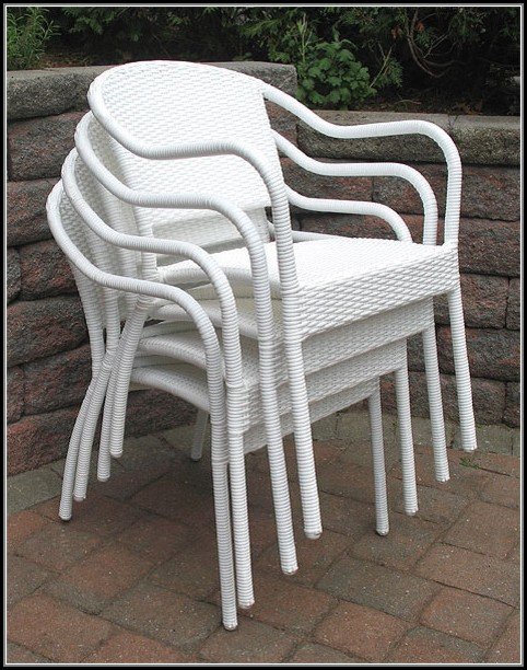 Resin Wicker Outdoor Chairs