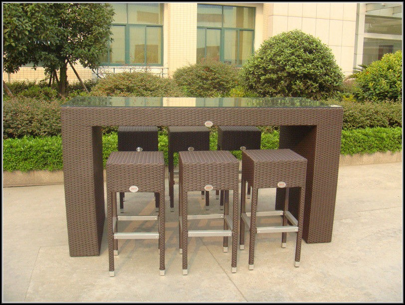 Resin Wicker Outdoor Sets