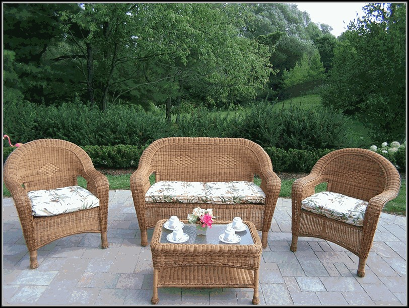 Resin Wicker Patio Set