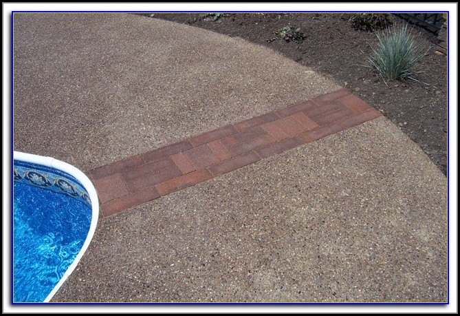 Resurface Aggregate Concrete Patio