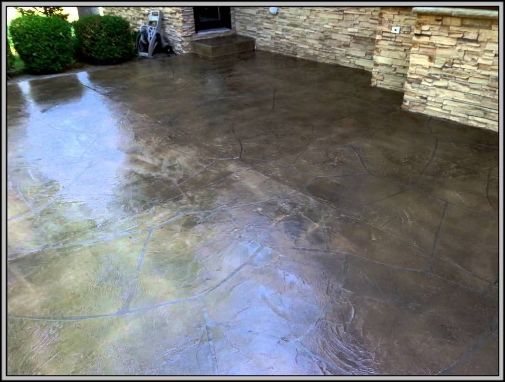 Resurface Concrete Patio Diy