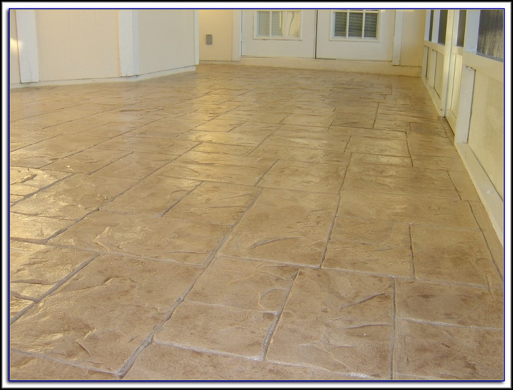 Resurface Concrete Patio Floor