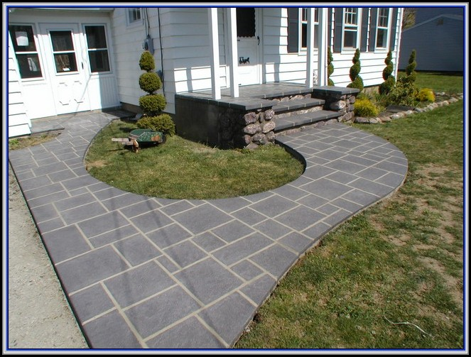 Resurface Concrete Patio Pavers