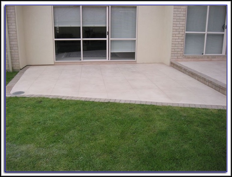 Resurfacing Concrete Patio Nz