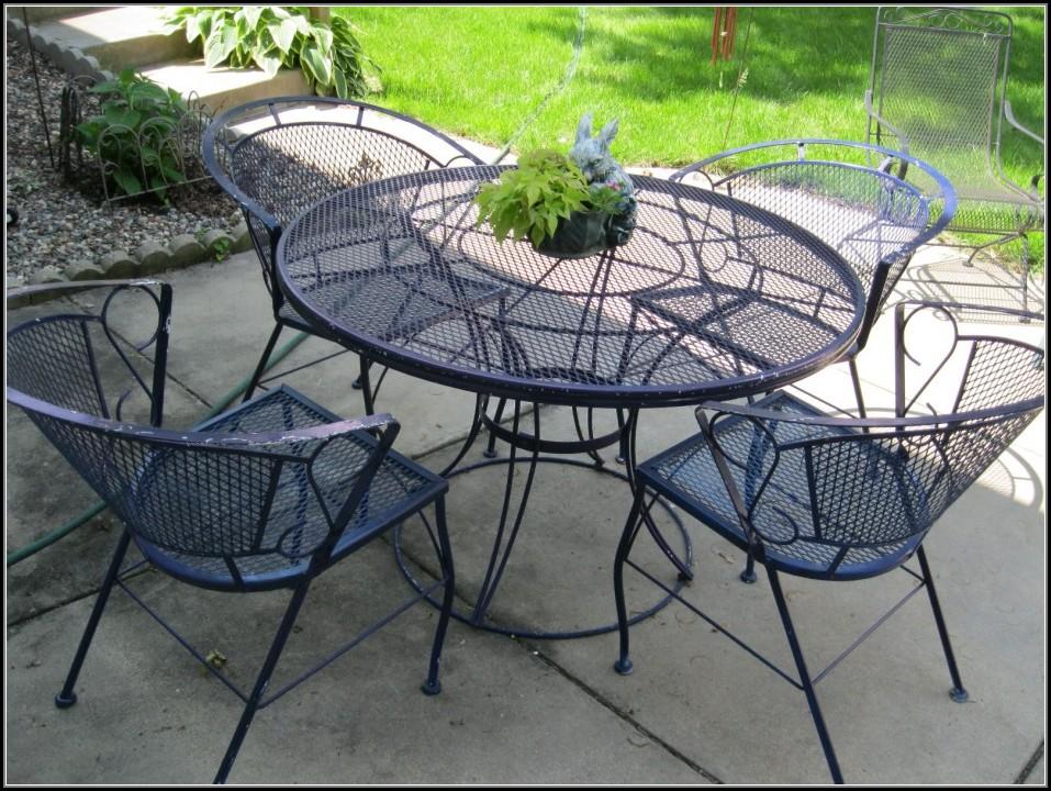 Rod Iron Patio Furniture Sets