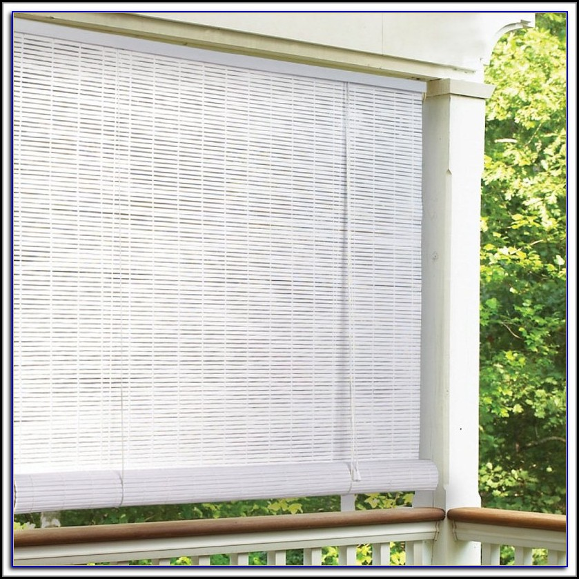 Roll Up Outside Blinds