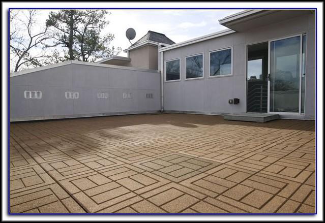 Rubber Floor Tiles For Patio