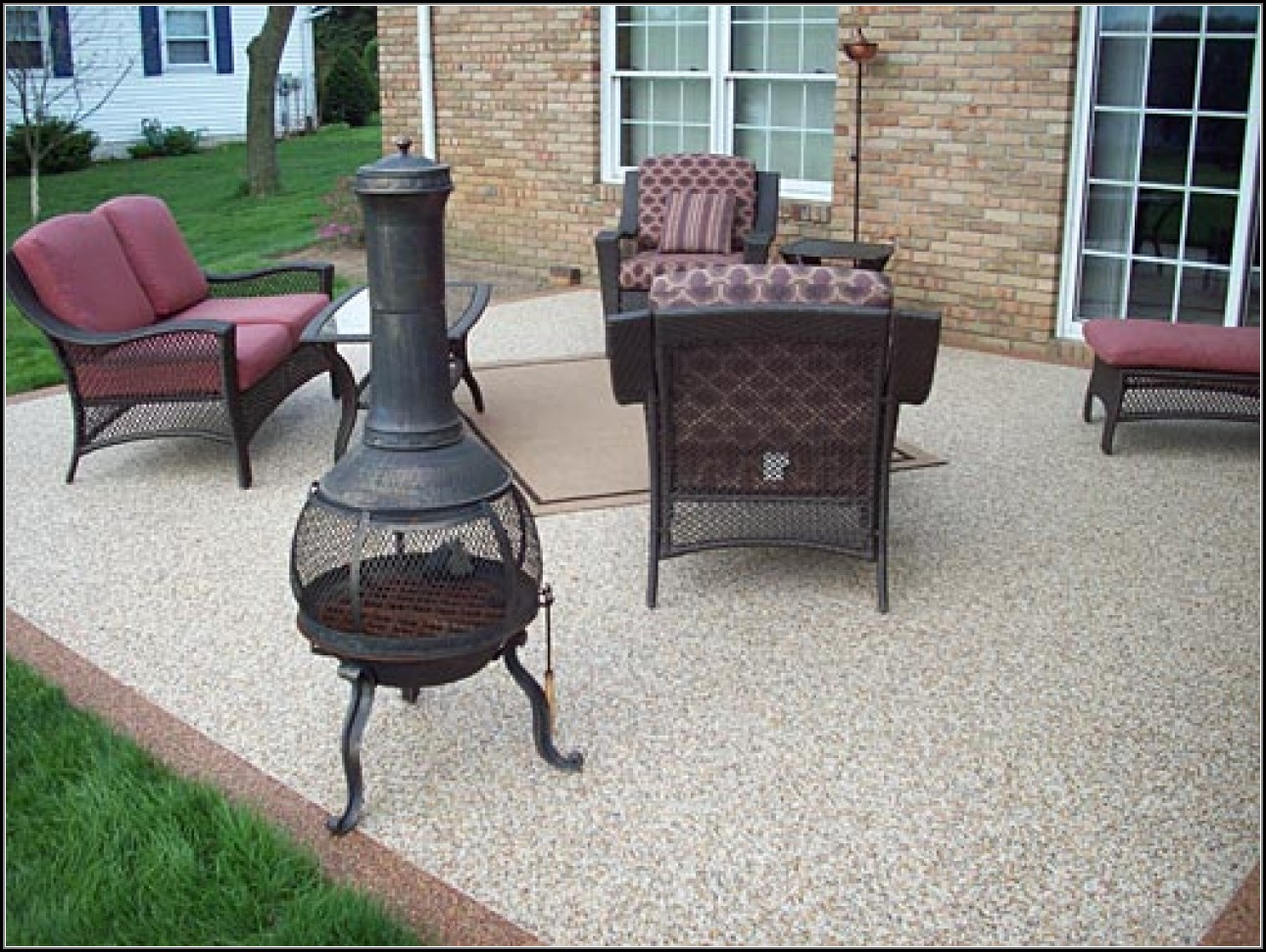 Rubber Flooring For Patio