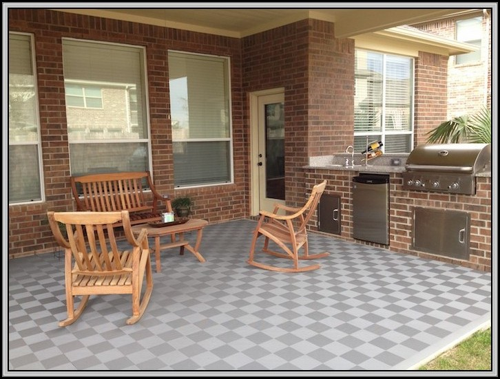 Rubber Tiles For Concrete Patio