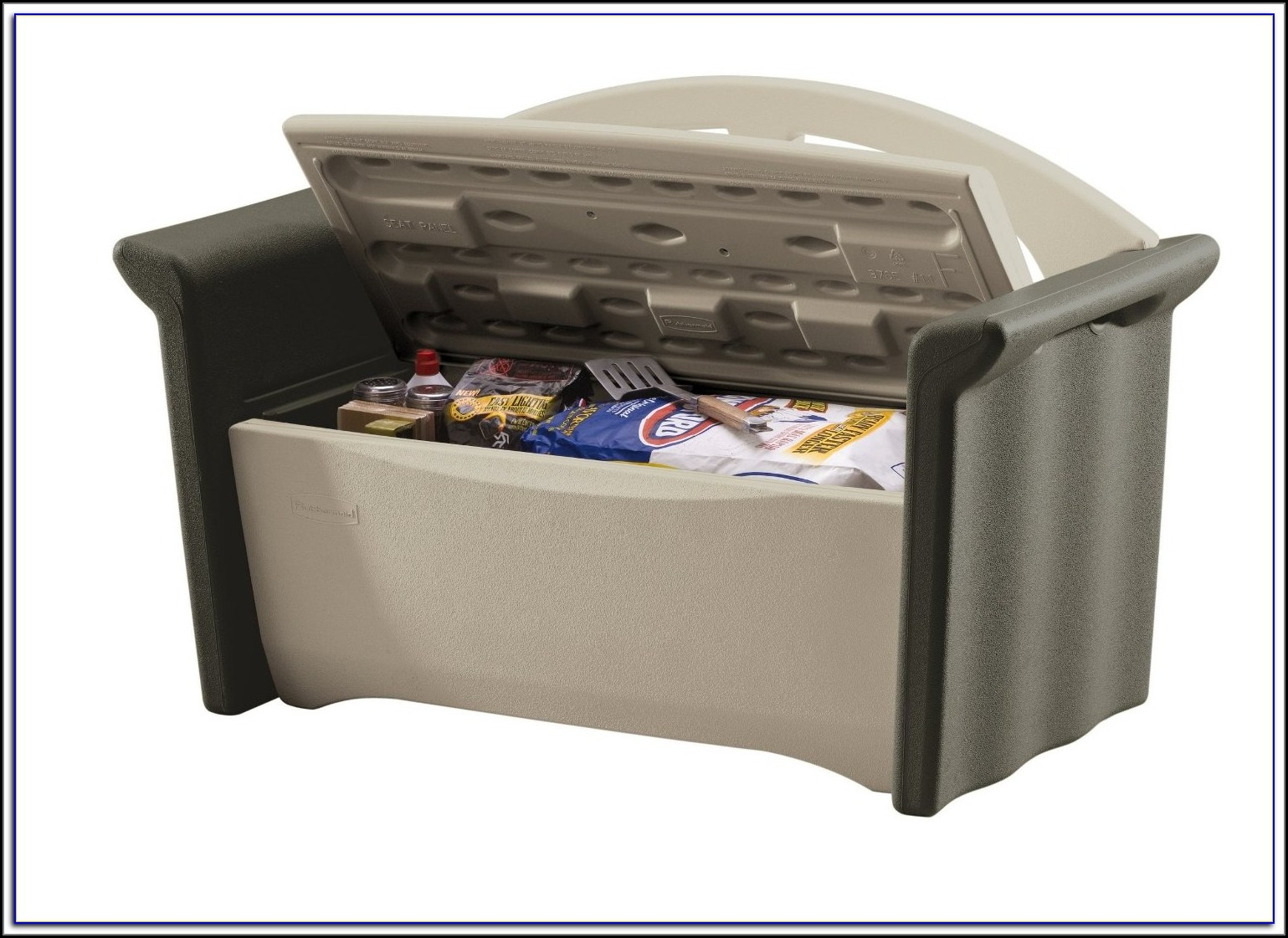 Rubbermaid Patio Storage Bench Instructions