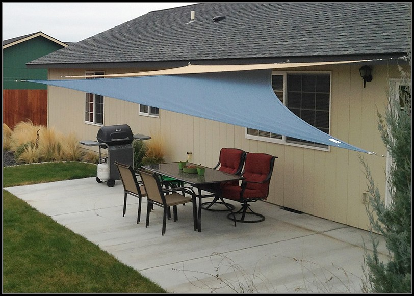 Sail Shade Patio Ideas