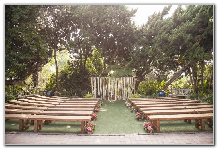 San Diego Botanical Gardens Wedding
