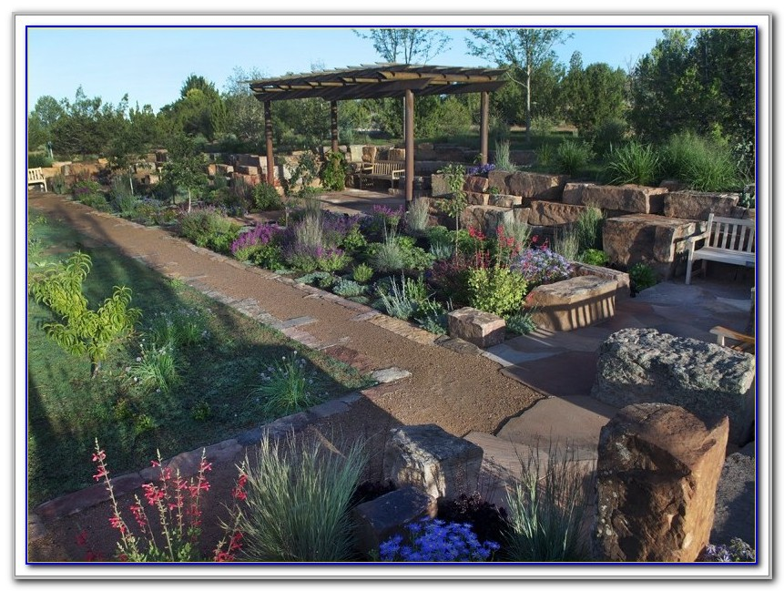 Santa Fe Botanical Garden Wedding