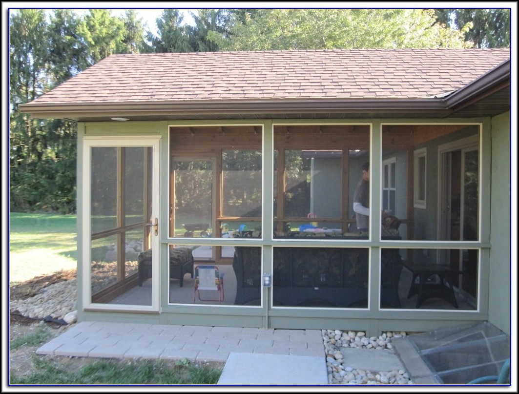 Screened In Patios Houston