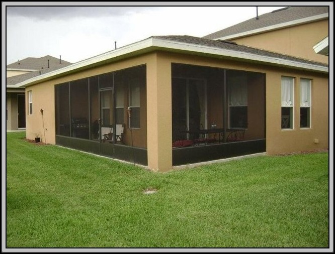 Screened In Patios In Florida