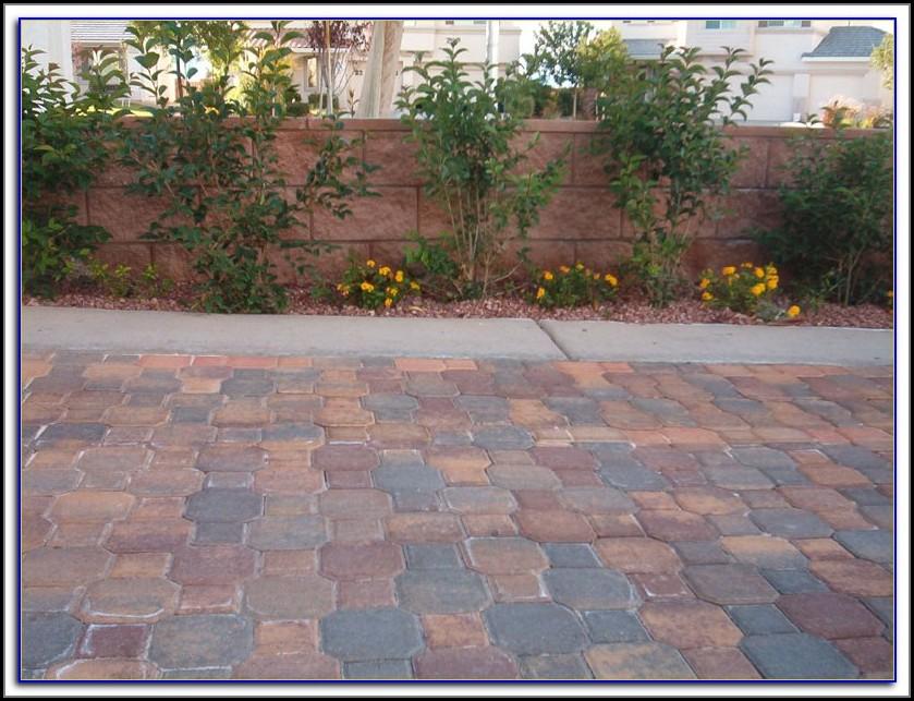 Sealing Concrete Patio Blocks
