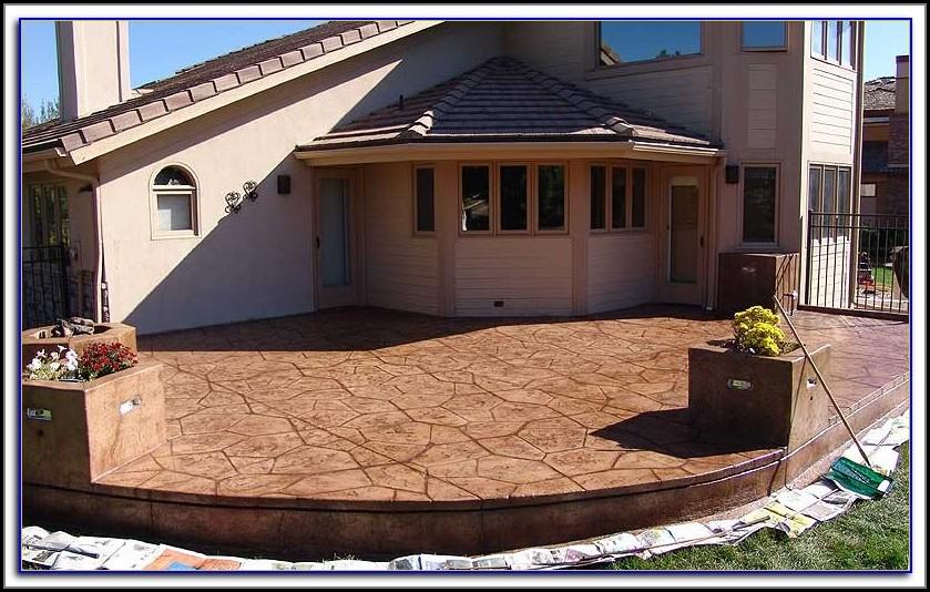 Sealing Concrete Patio Bubbles