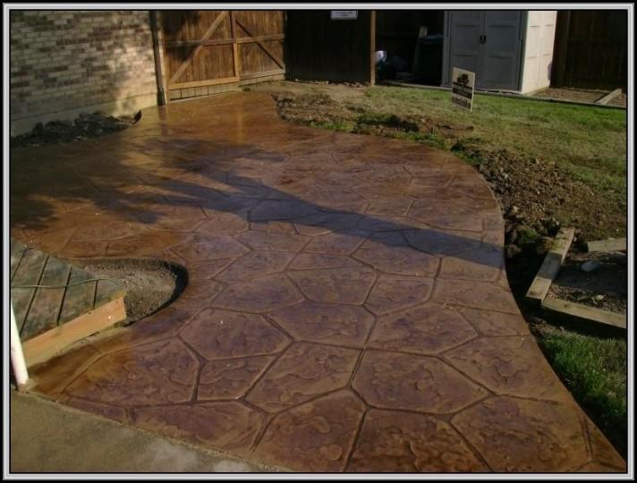 Sealing Concrete Patio Cracks