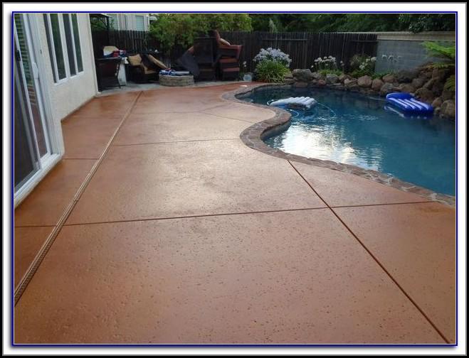 Sealing Concrete Patio Furniture