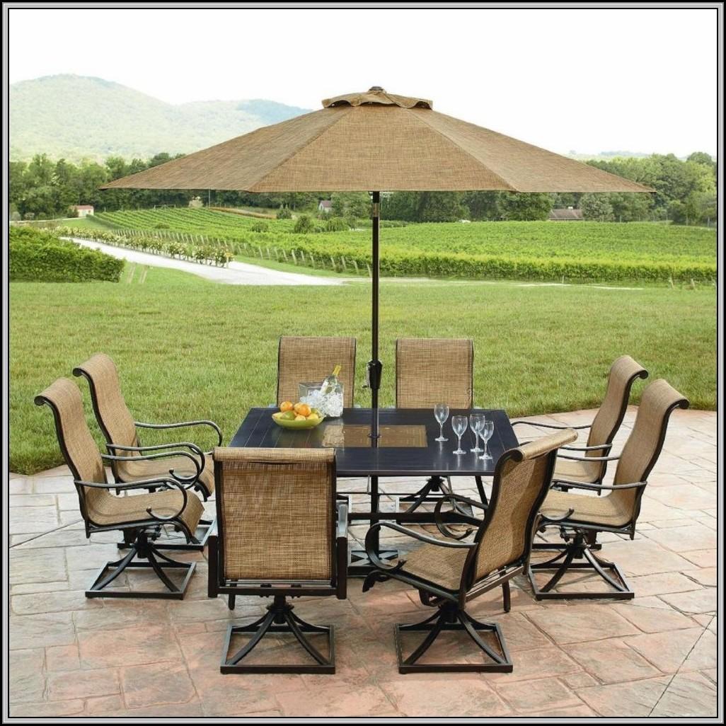 Sears Patio Set With Umbrella