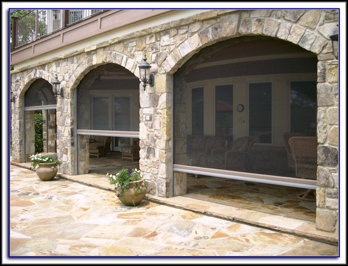 Shade Screens For Patios