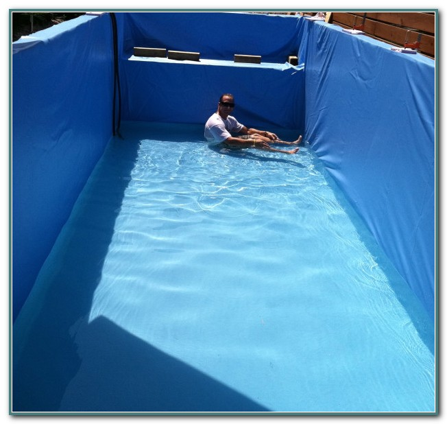 Shipping Container Swimming Pool Liner
