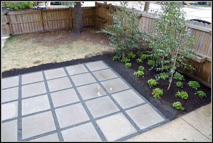 Simple Patio Ideas With Pavers