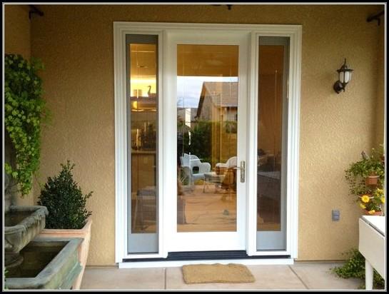 Single Patio Doors With Sidelights