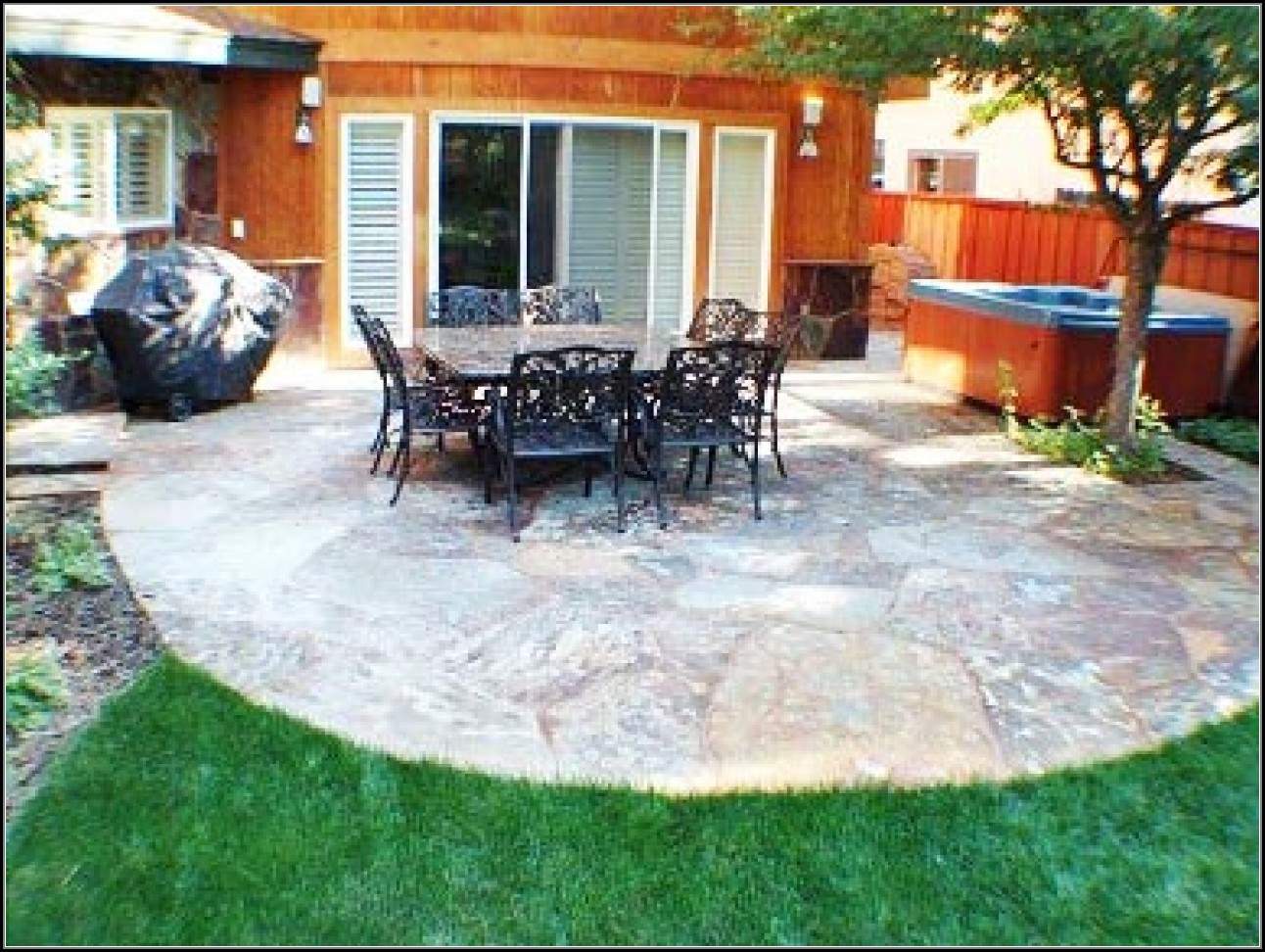 Slate Stone Patio Ideas