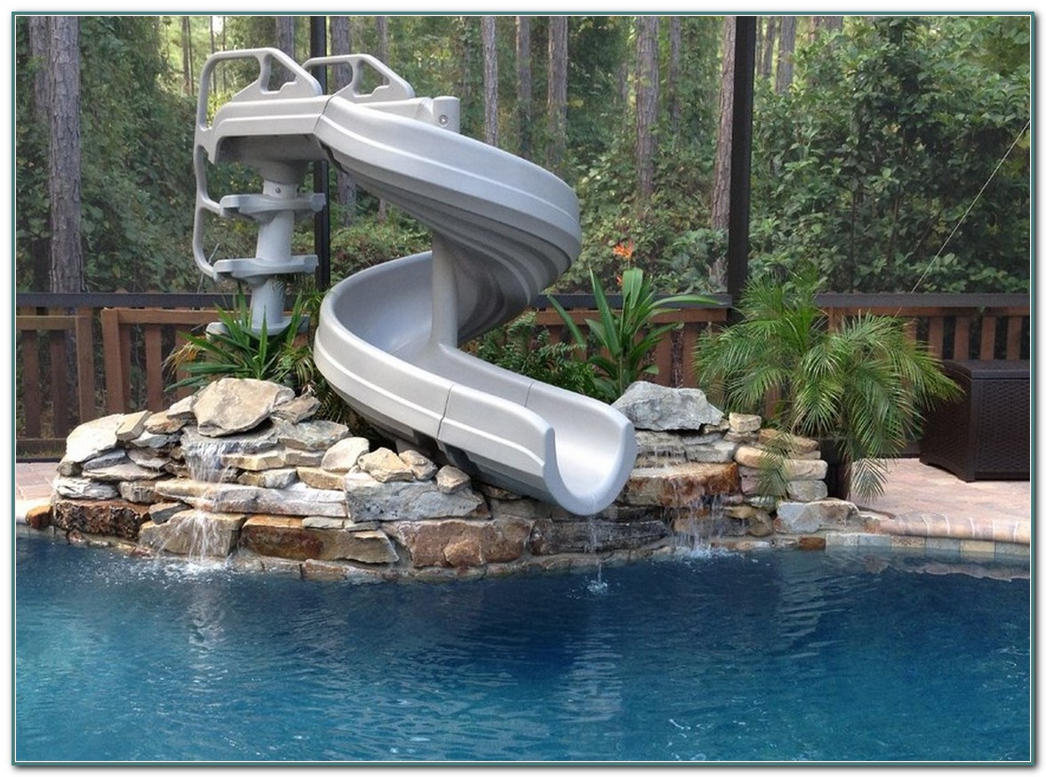 Slides For Inground Pools