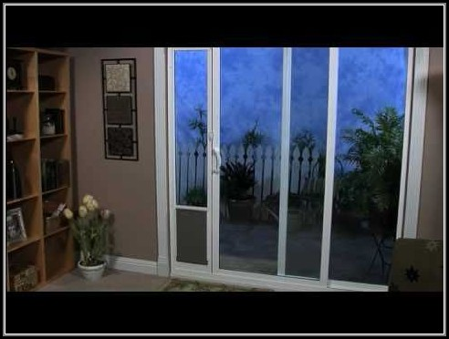 Sliding Door Pet Door