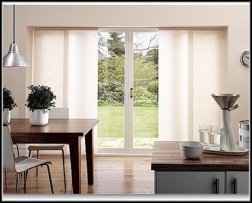 Sliding Door Window Coverings Ideas
